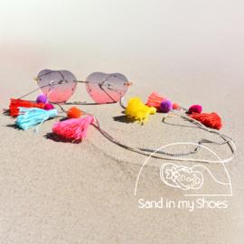 Zonnebril koord - Happy Sunshine