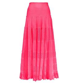 Maxi Skirt Lace - Pink, Isla ibiza