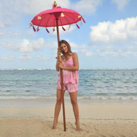 Top Anna Moonstone, Pink - Hot Lava