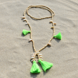 Mala with Love - Neon Green - Bali Touch