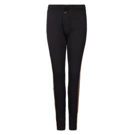 Trouser black met sierband 8219215