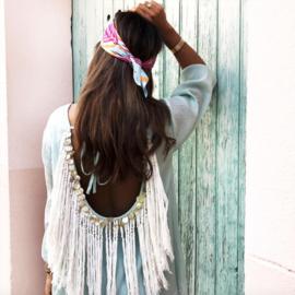 Indiana Gypsy turquoise/Off white, Sundress