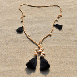 Mala with Love - Black - Bali Touch