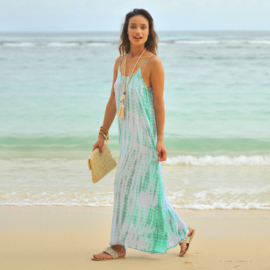 Maxi Dress Anna Desert Hot Lava, Azure