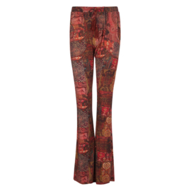 Trousers Bohemian Fall Isla Ibiza - Indian Red 8219207 print 015