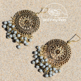 Earrings - Sea Green - Isla Ibiza