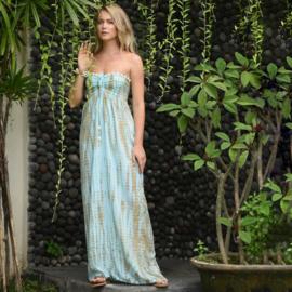 Dress Antibes moonstone, Sea mist -Hot Lava