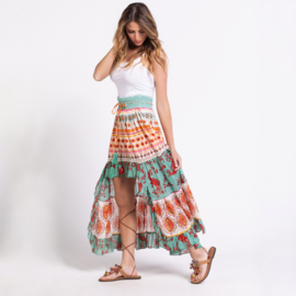 Maxi Rok Crochet Savage Culture - Multi