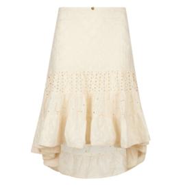 Skirt midi Cream 8120806 - Isla Ibiza Bonita