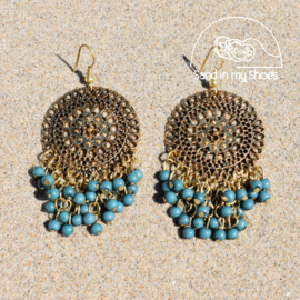Earrings - Dark Cyan | Isla Ibiza
