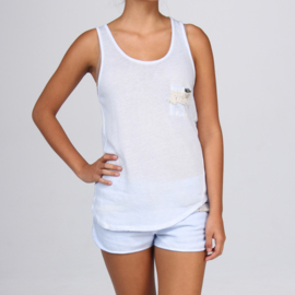 Comfy Top Round Neck, Isla Ibiza - Sky