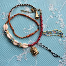 Necklace multi color Buddha -Isla Ibiza Bonita