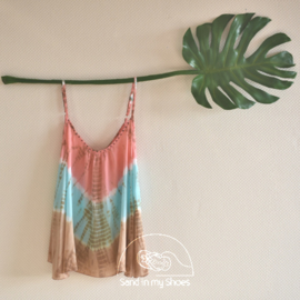 Top Anna Tie Dye Hot Lava, Water Lily