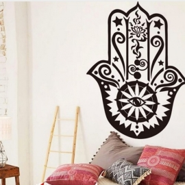 Muur decoratie - Hamsa hand - size S - Sand in my Shoes