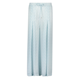 Trouser light blue hartjes- Isla Ibiza Bonita