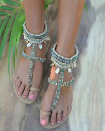 Indy Jade sandal - Hot lava
