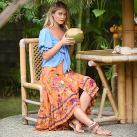 Skirt Rosalie - Sardegna, Hot Lava