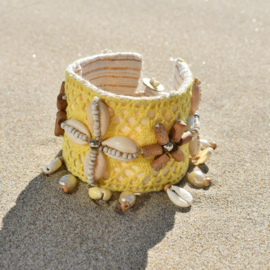 Bracelet Lush Geel - Hot Lava