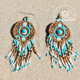 Earrings - Mixed turquoise - Isla Ibiza