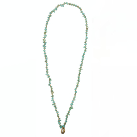 Ketting Indy Lang Turquoise