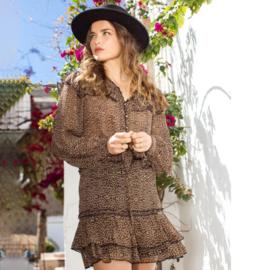 Blouse Luipaard Print Isla Ibiza - Bruin 8219503