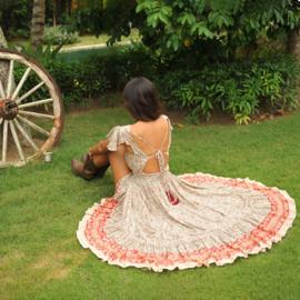 Dress Isabelle, Desert rose
