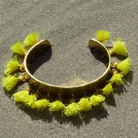 Cuff bracelet - Yellow - Toscana Pulseras