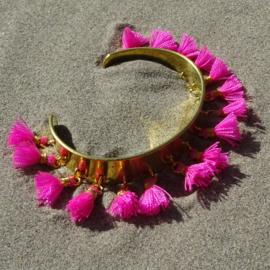 Cuff bracelet - Pink - Toscana Pulseras