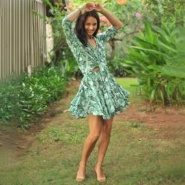 Skirt Fleur, Eden - Hot lava