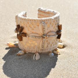 Bracelet Lush Ivory - Hot Lava