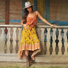 Skirt Rosalie,Sunflower Hot lava