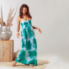 Dress Antibes - Wave, Hot Lava