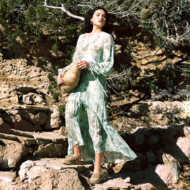 Dress Underwater world Sea & Turqouise 8121704
