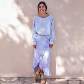 Wrap Skirt Lila 8120811 - Isla Ibiza Bonita