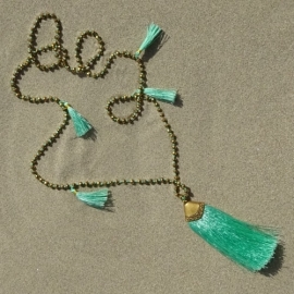 Bali touch ketting
