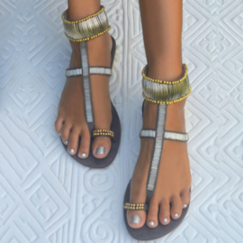 Sandal Bali Moon, Grey - Hot Lava