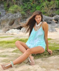 Maxi Dress Anna Desert Hot Lava, Azure