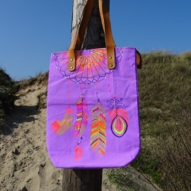 Catch My Dreams Bag -  Purple - Sand in my Shoes