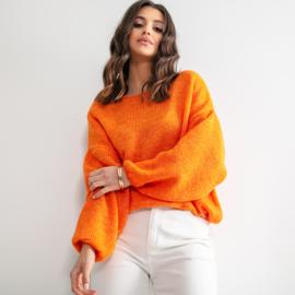 Sweater weather, Color Oranje - Fobya F1159