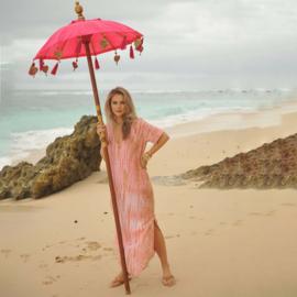 Dress Ula Moonstone - Coral, Hot Lava