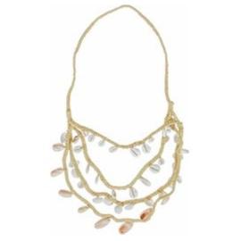 Necklace - Montego Bay - Light Brown - Hot Lava