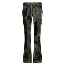 Trousers Velvet Isla Ibiza - Dark Olive