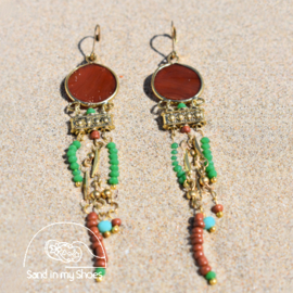 Earrings - Mixed Colours - Isla Ibiza