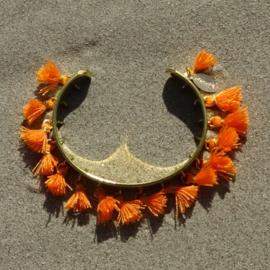 Cuff bracelet - Orange - Toscana Pulseras