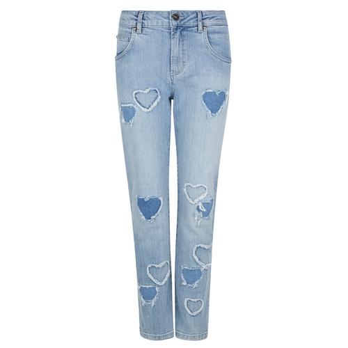 Denim Slim Fit Love Hearts Jeans Blue 8220219 - Isla Ibiza Bonita