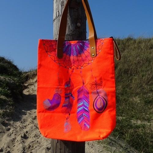 Catch My Dreams Bag -  Orange - Sand in my Shoes