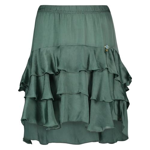 Skirt Ruches Isla Ibiza - Bottle Green