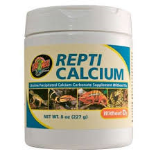 Zoomed Repti Calcium without D3 227gr