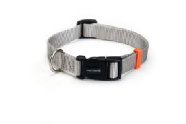 Nylon licht grijze hansband 48-70cm x 25 mm