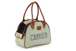 Hondentas Carrier Groen 40x18x30cm